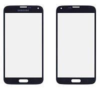 Стекло сенсорного экрана Samsung S5 black