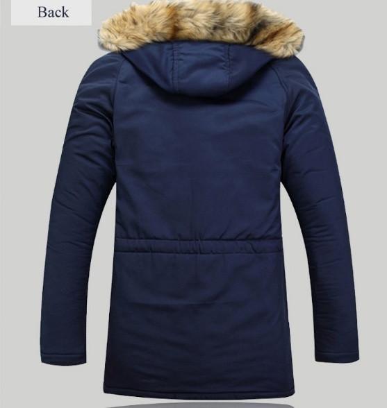 e9c7c86df42 Мужская зимняя куртка с капюшоном. Модель 700 - купить Украина ...