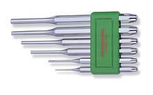 Набор выколоток 2х8х115-8х12,7х180м, 6 предметов хромированных Jonnesway M63M106S