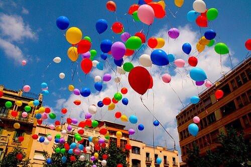 шарики на день города