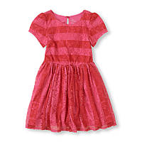 Нарядное гипюровое платье для девочки The Children's Place (США)