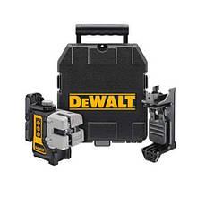 Лазер самовыравнивающийся 3-х плоскостной (гориз+верт+бок) DeWALT DW089K (США/Китай)