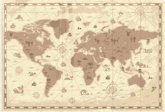 Фотообои Карта 05, фото 2