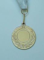 Медаль IMD-005 silver с лентой