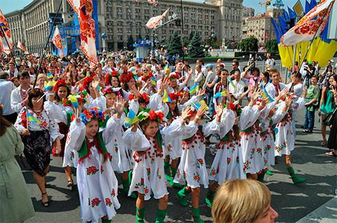 Украина день города