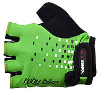Велоперчатки PowerPlay 5451 с, зеленый
