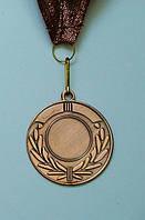 Медаль IMD-005 bronze с лентой