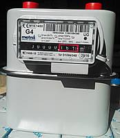 """Счетчик газа объёмный диафрагменный Metrix UG1,6 бытовой (Польша) Dn20 G¾"""" с КМЧ"""