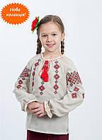 Красивая вышиванка детская на девочку