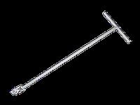"""Вороток 1/2"""" Т-образный с карданом 1000мм KINGTONY 4795-36"""