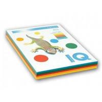 Набор бумаги цветной неон IQ, А4/80 (4х50/200л.), RB04 (A4.80.IQ.RB04.200)