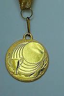 Медаль IMD-007 gold с лентой