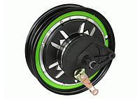 """Мотор-колесо 48 вольт 1500 ватт с ободом 12"""" для скутера"""