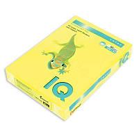 Бумага цветная неон. IQ, А4/80, 500л. NEOGB, желтый