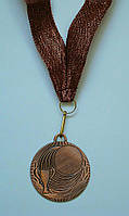 Медаль IMD-007 bronze с лентой