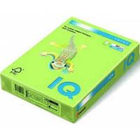 Бумага цветная неоновая Mondi IQ, А4/80, 500л. NEOGN, зеленый