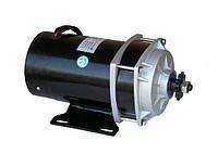 Электродвигатель  36V650W постоянного тока с планетарным редуктором