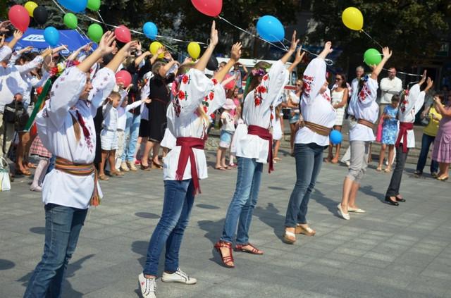 шары для дня города