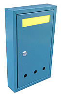 Почтовый ящик прямоугольный простой со шторкой