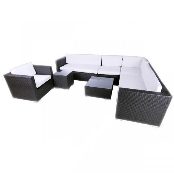 Диван из ротанга - набор уличной мебели для сада, терассы