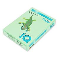 Бумага цветная пастельная Mondi IQ, А4/80, 500л. MG28, зеленый