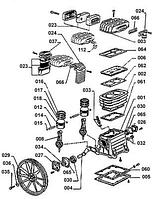 Запчасти на компрессоры ABAC B2800, OMA CM 3/330/150, OMA CM 3/330/100