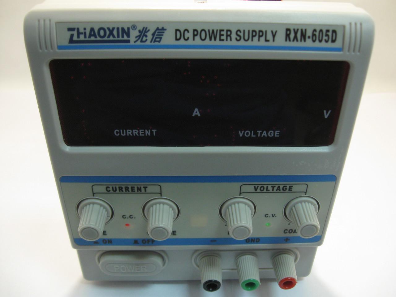 Лабораторный блок питания Zhaoxin RXN-605D