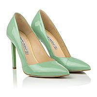 Роскошные туфли цвета мяты Bravo Moda (на высокой шпильке, классический дизайн, острый носок, стильные, модные