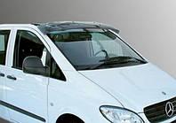 Козырек лобового стекла Mercedes Vito 639 (2003-2014) /акрил, на крепл.