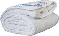 Одеяло детское 110х140 холлофайбер теплое Merkys белый поплин