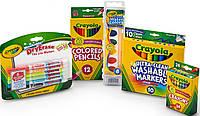 Набор для рисования Crayola из мелков, карандашей, смываемых красок и маркеров Оригинал из США