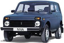 Защита заднего бампера на Lada Niva