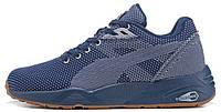 Мужские кроссовки Puma R698 (Пума) синие