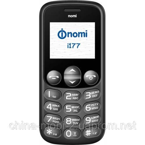 "Телефон Nomi i177 Black 1,8"""