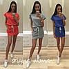 Женское модное платье с карманами (5 цветов)