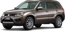Защита заднего бампера на Suzuki Grand Vitara (c 2010--)