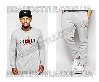 Спортивный костюм Jordan серый