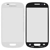 Стекло сенсорного экрана Samsung i8190 Galaxy S3 mini white