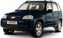 Защита заднего бампера на Niva Chevrolet (c 2002--)