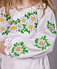 Вышитое платье для девочки Ромашка, фото 8