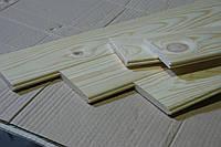 Вагонка дерев'яна двухстороння шліфована L 0,70м