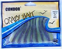 Силиконовая приманка Condor Crazy Bait 8 см. 8 шт.