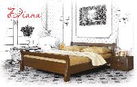 Ліжко дерев'яне букове Діана (Щит)