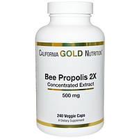 Прополис пчелиный, California Gold Nutrition, 240 капсул