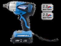 Гайковерт электрический с аккумулятором  1/2   500 Nm  18V LI-ION  44604MPA