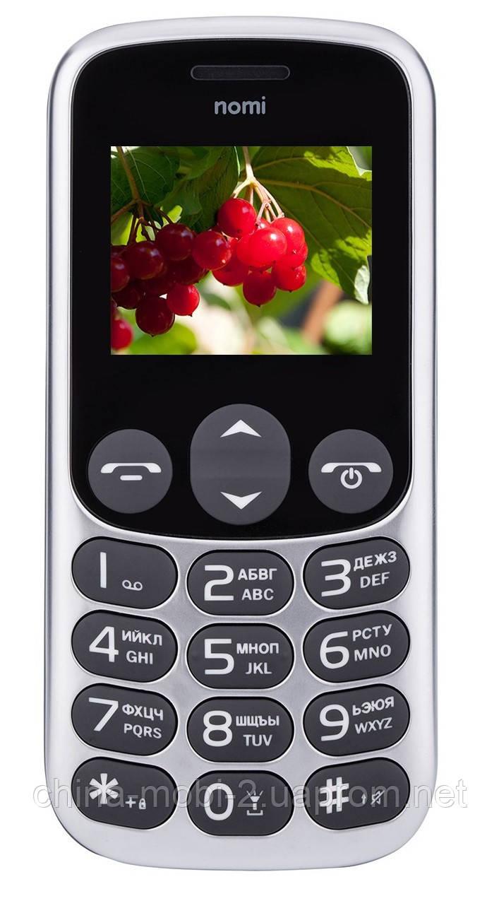 Телефон Nomi i177 metal Gray ' ' '