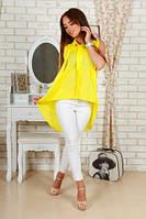 Стильная блуза с ассиметричным низом 1012 ИБП