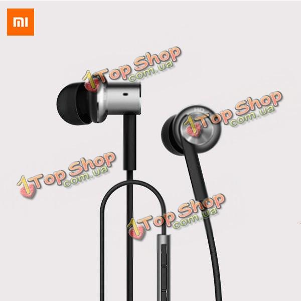 Xiaomi Hybrid двойной драйверы проводной контроль наушники с микрофоном