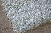 Ковер из полиэстера 1,67х2,00 ручная работа, Jungle-белый-серый оттенок