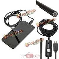 1м-3.5m 5.5мм 6 LED водонепроницаемый эндоскоп borescope инспекции камеру для Андроид телефона планшетный компьютер